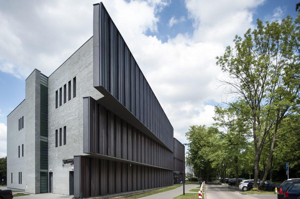 Fotografia biznesowa. Zdjęcie budynku, architektury. Uniwersytet w Białymstoku.