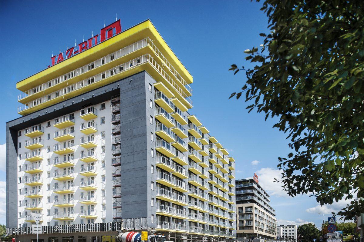 Fotografia biznesowa - zdjęcie architektury, budynku w budowie.