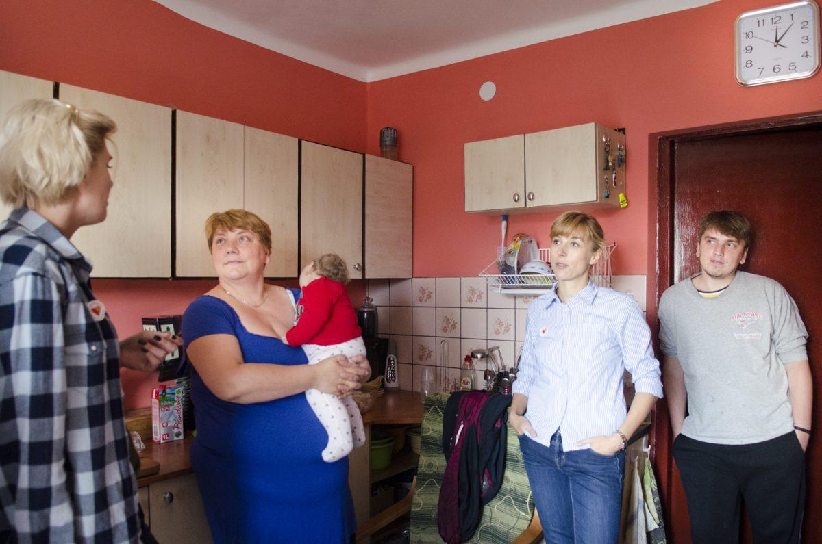 Fotografia reportażowa - rodzina z chorym dzieckiem