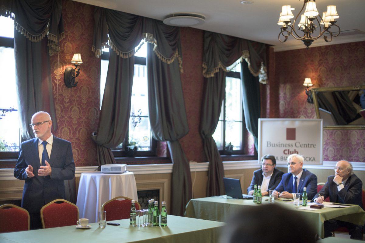 Fotografia biznesowa reportażowa - relacja ze spotkania loży biznesu