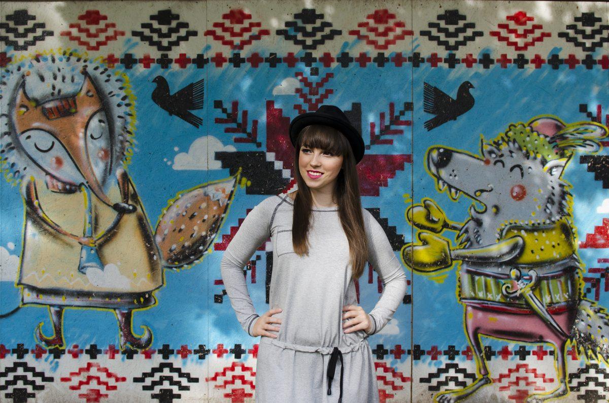 Fotografia portretowa - zdjęcie modowe blogerki