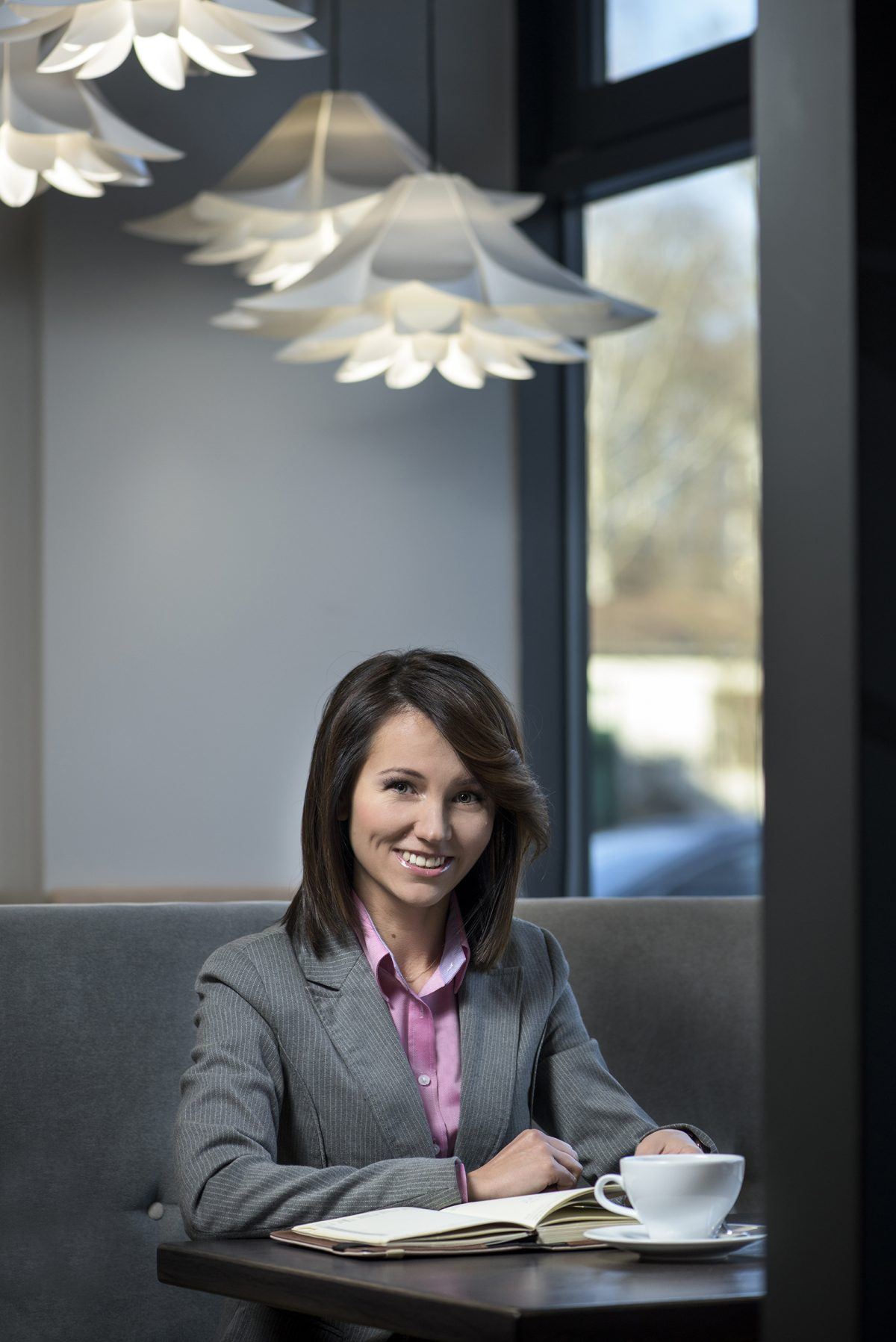 Sesja biznesowa Jolanty Borowskiej właścicielki Grupa Gastro.