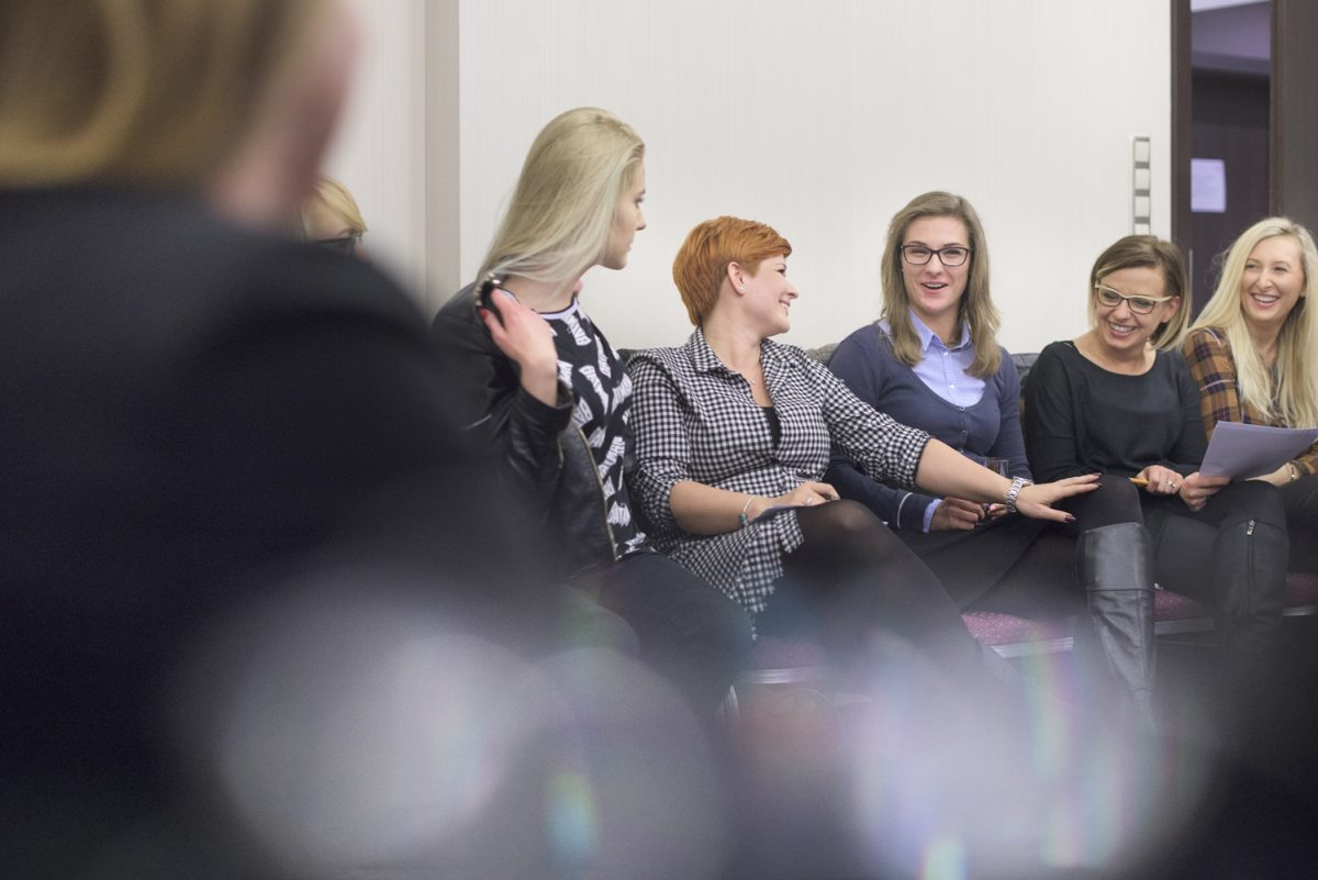 Fotografia reportażowa - event motywacyjny Sexy Zaczyna Się w Głowie.