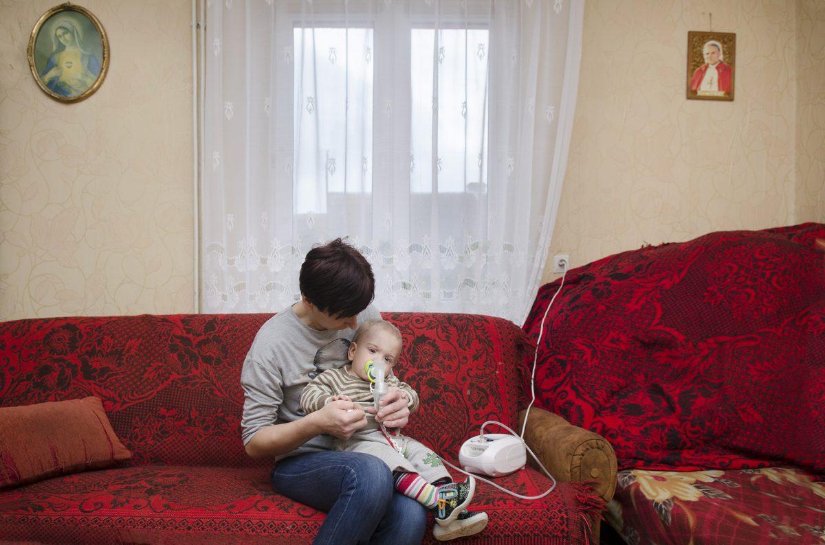 Historia matki i dziecka - fotografia reportażowa