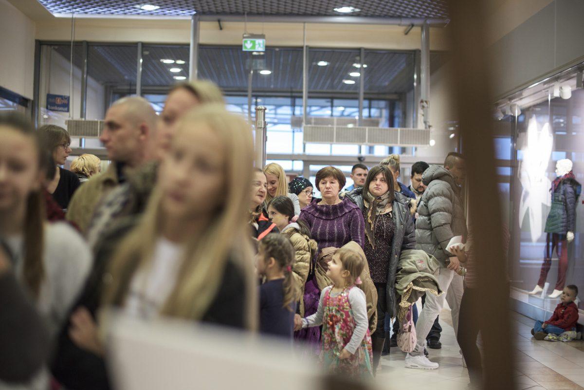 Fotorelacja - promocja bajki w Białymstoku - fotografia reklamowa