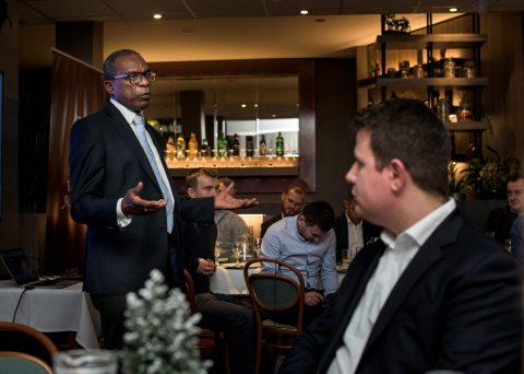 Fotografia reportażowa - spotkanie London Business Association