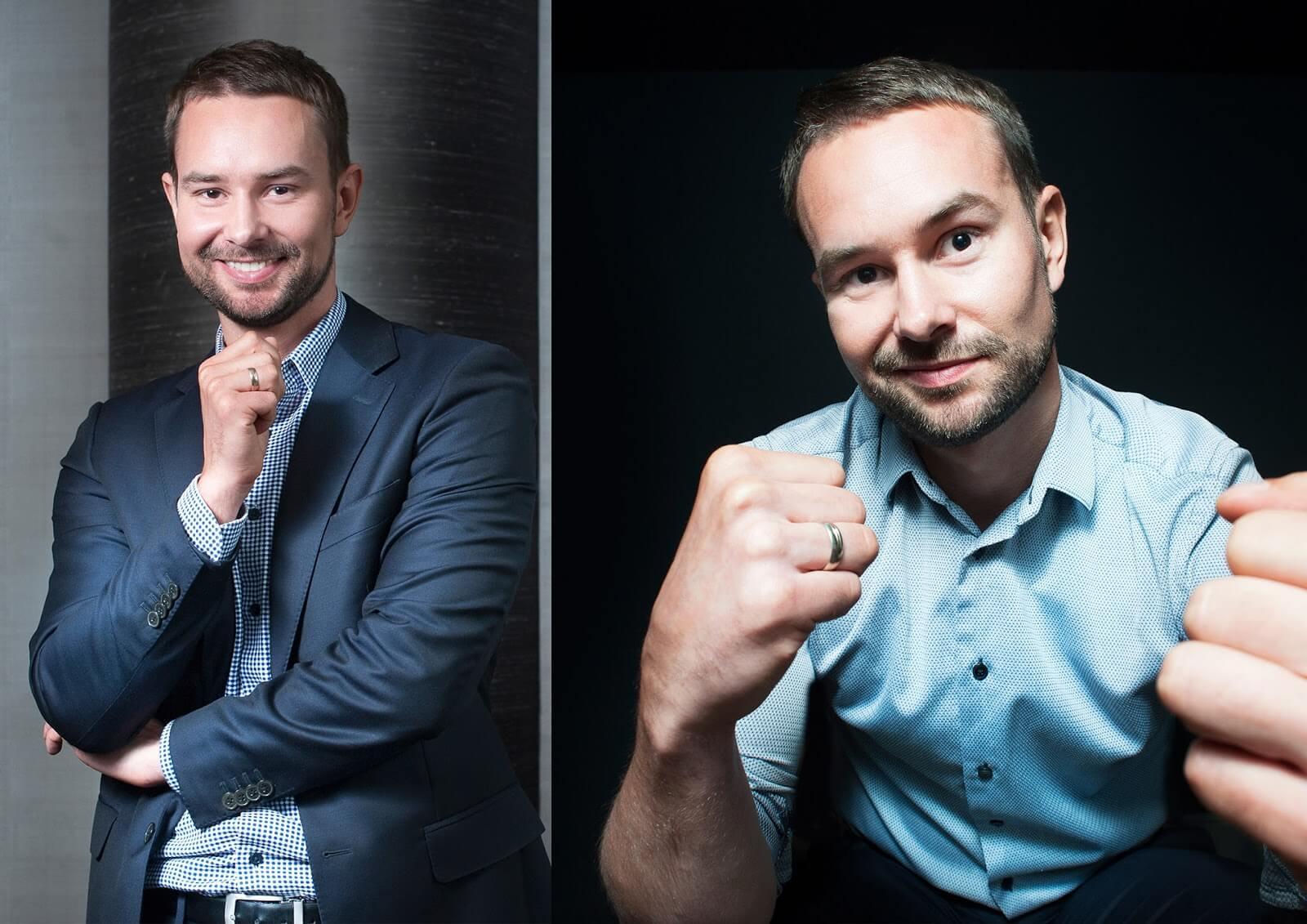 Portrety biznesowe dla celów promocyjnych