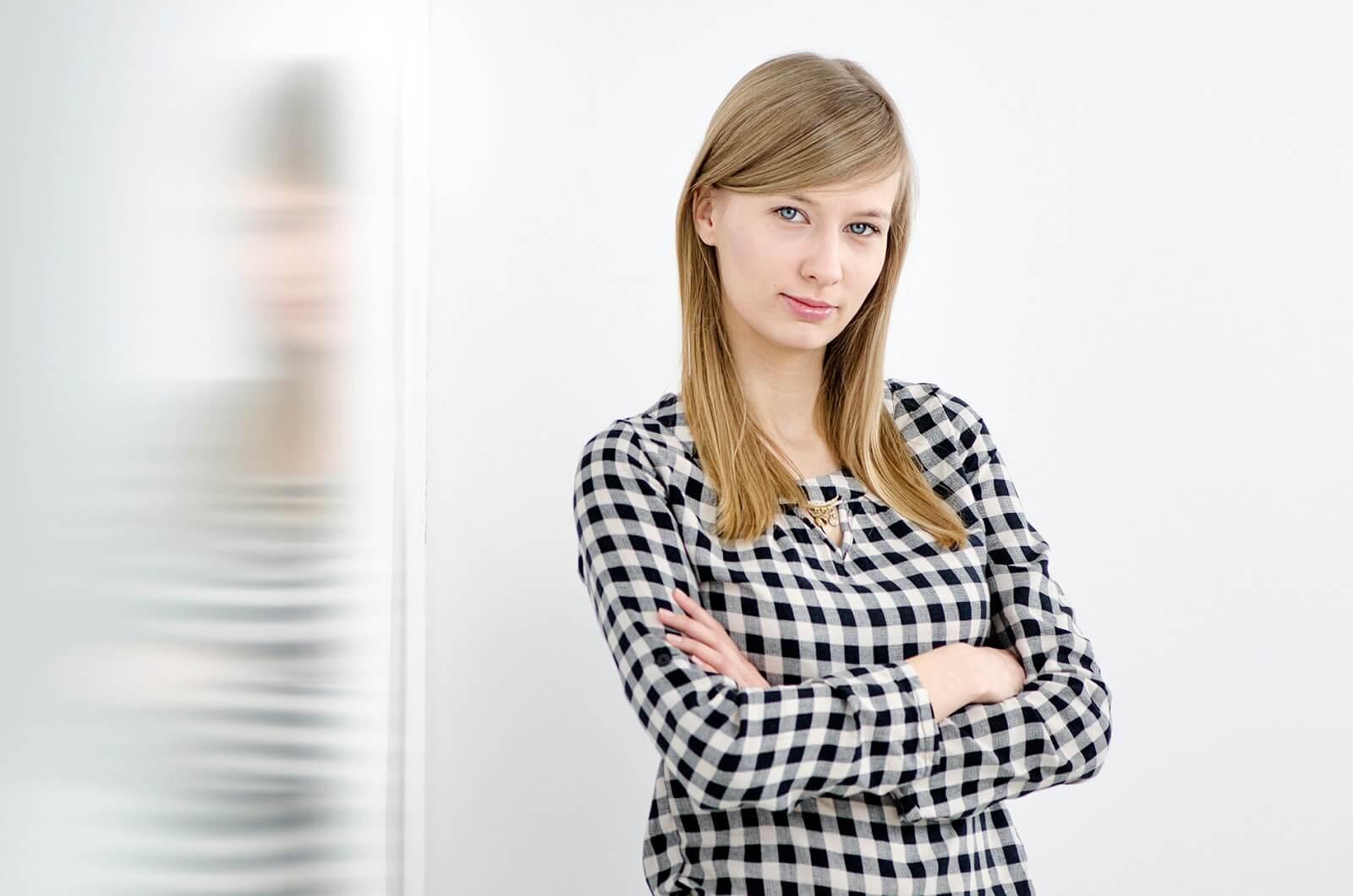 Fotografia wizerunkowa młodej kobiety