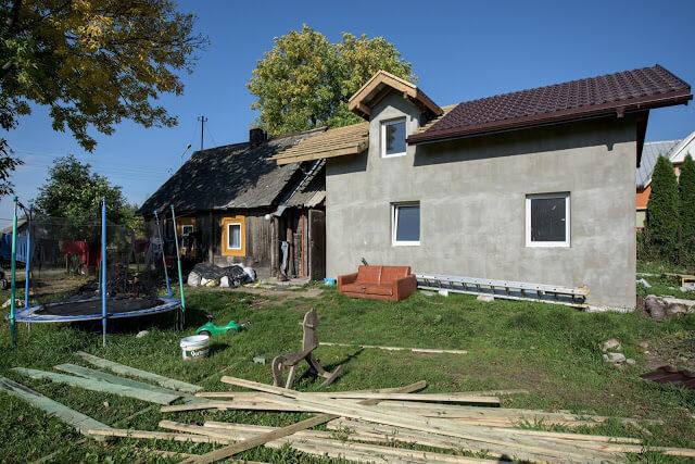 Dom po remoncie - fotografia reportażowa