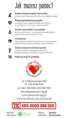 Infografika - fundacja Pomóż Im