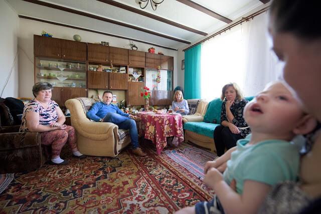 Portret rodziny - fotografia reportażowa